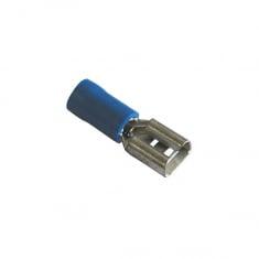 Female Spade Crimp Connector - 6.3mm