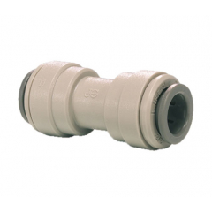"""John Guest 1/4"""" to 1/4"""" Equal Straight Connector"""
