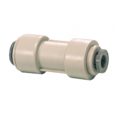"John Guest 1/2"" to 3/8"" Reducing Straight Connector"