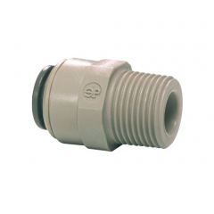 """John Guest 1/4"""" Push-Fit to 1/4"""" Male Screw Thread"""
