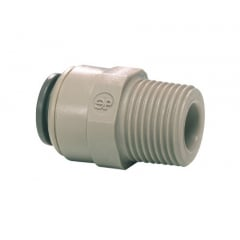 """John Guest 1/4"""" Push-Fit to 3/8"""" Male Screw Thread"""