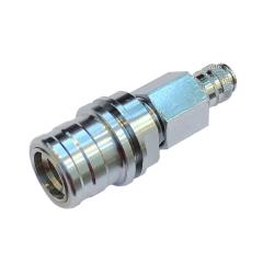 Metal Adapter - EZ-Snap Female to Hozelock type Female Coupling