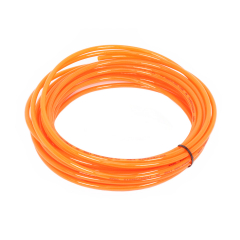 Orange PU Hot Water Pole Hose 5.5mm ID x 8mm OD
