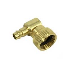 Pro 26 Plug Swivel Elbow - Brass Hose Reel Fitting