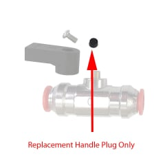 Replacement Plug for Push-Fit Flow Valve Handle