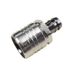"""Quick-Release Straight Through Coupling with 1/2"""" Hose Barb"""